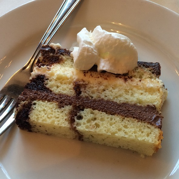 Chocolate And Vanilla Cake - Caffe Luna, Raleigh, NC