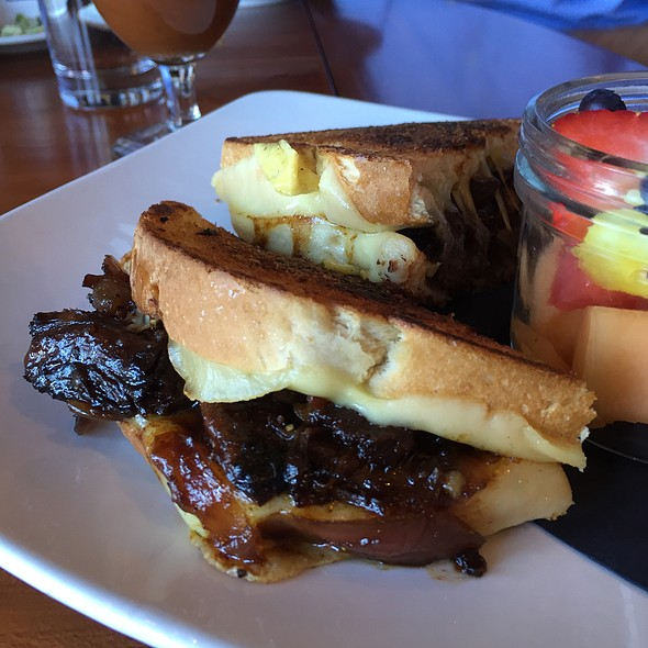 Short Rib Grilled Cheese - Mesh Restaurant, Indianapolis, IN