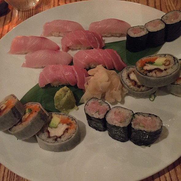 Assorted Sushi & Rolls - Nobu Next Door, New York, NY