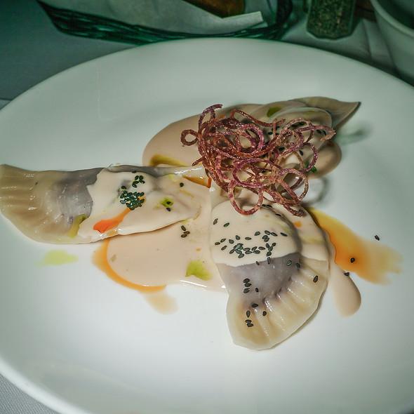 sweet potato ravioli - Hukilau Lanai, Kapaa, HI