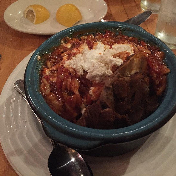 Lamb Shank And Orzo - Greek Taverna - Montclair, Montclair, NJ