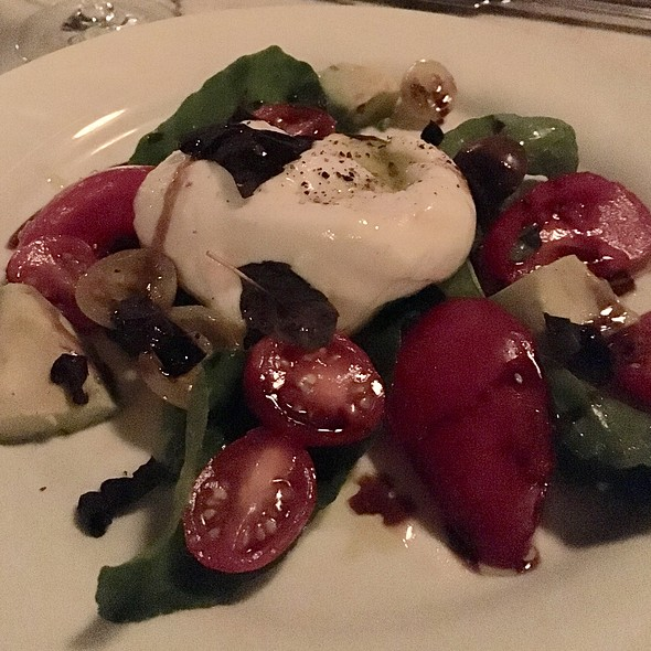 buratta salad - Cecconi's, West Hollywood, CA