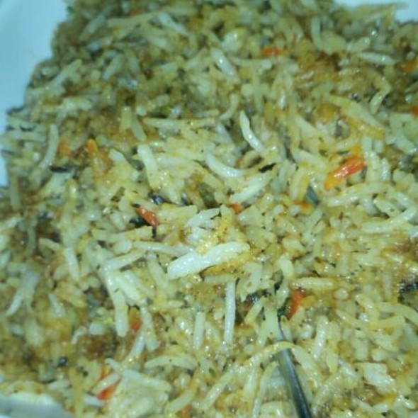 Shrimp Bryani - Bombay Tandoor, Vienna, VA