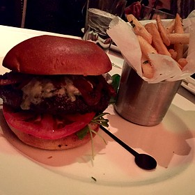 Gorgonzola And Black Truffle Wagyu Burger* - The Capital Grille - Milwaukee, Milwaukee, WI