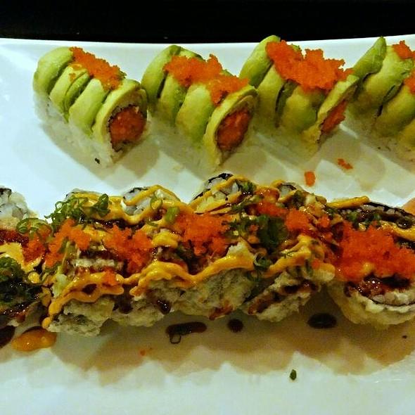 Godzilla Roll & Crunchy Roll - Ichiban Sushi Asian Bistro, Bowie, MD