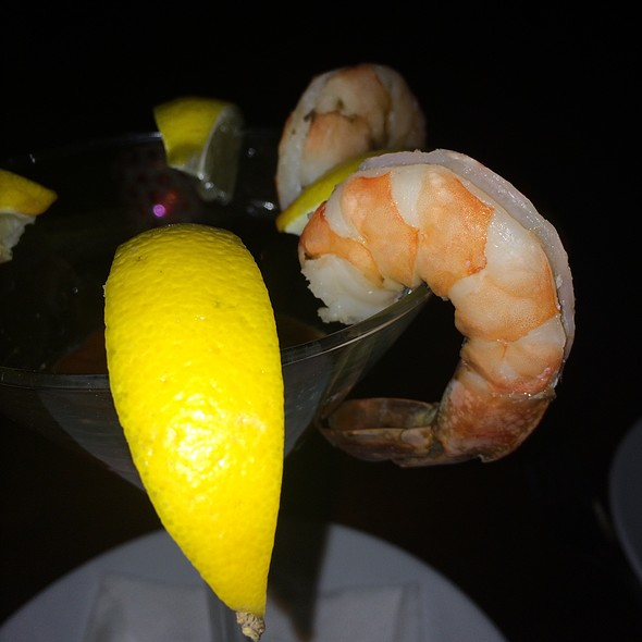 Shrimp Cocktail - Tantra Restaurant & Lounge, Miami Beach, FL