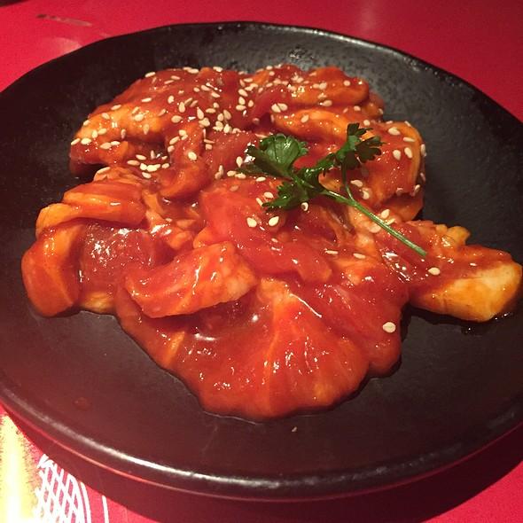 spicy pork - Gyu-Kaku - Beverly Hills, Beverly Hills, CA