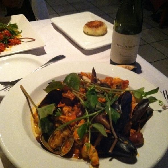 Seafood Puttanesca - Dockside Bistro, Olympia, WA