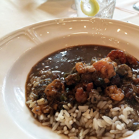 seafood gumbo - The Rib Room at the Omni Royal Orleans, New Orleans, LA