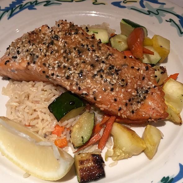 Miso Glazed Sesame Salmon - The Sole Proprietor, Worcester, MA