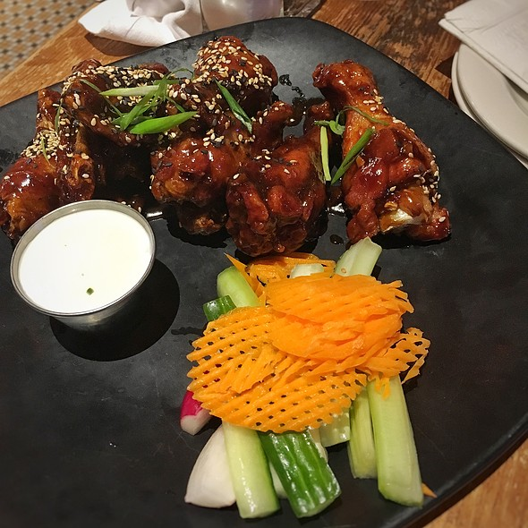 Mongolian Chicken Wings - Guy's American Kitchen and Bar, New York, NY