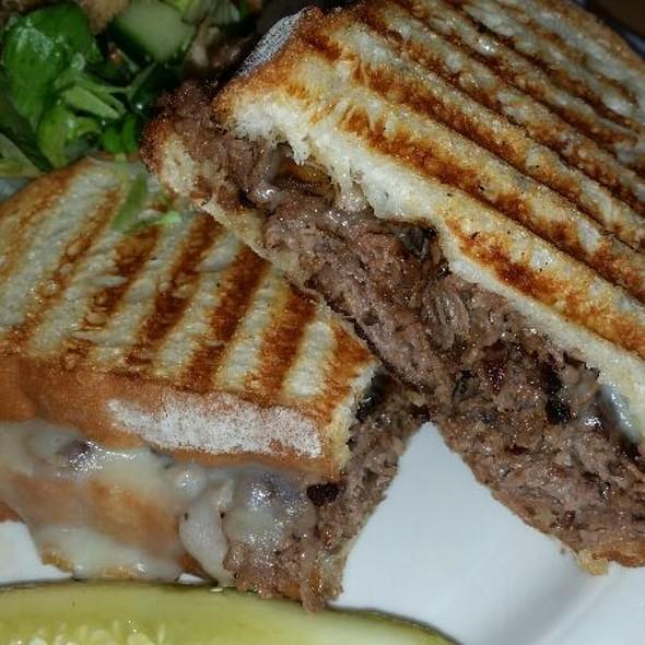 Prime Rib And Mushroom Panini - Grady's Grille, Homewood, IL