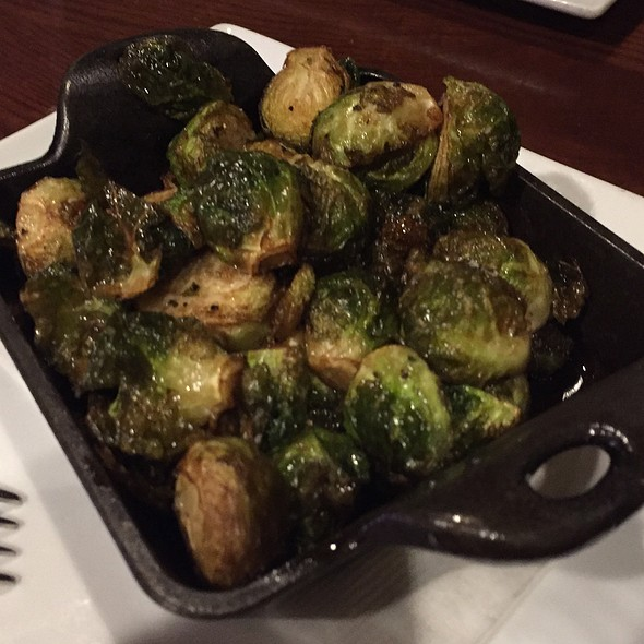 Roasted brussels sprouts - Marion Street Cheese Market, Oak Park, IL