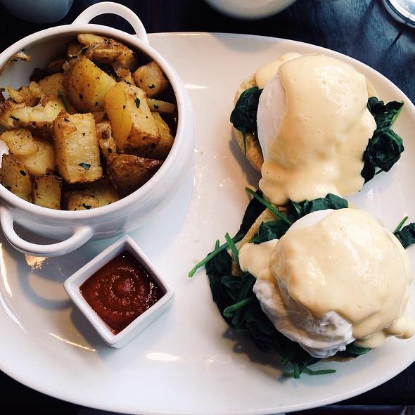Eggs Benedict - Posana, Asheville, NC