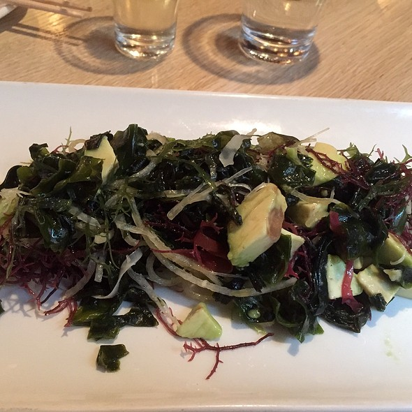 Seaweed Salad With Avacado - KaZe, Cincinnati, OH
