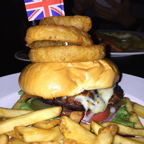 The Firkin Burger - Firkin on Yonge, Toronto, ON