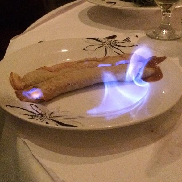 Dulce De Leche Crepes - Gaucho Grill, White Plains, NY