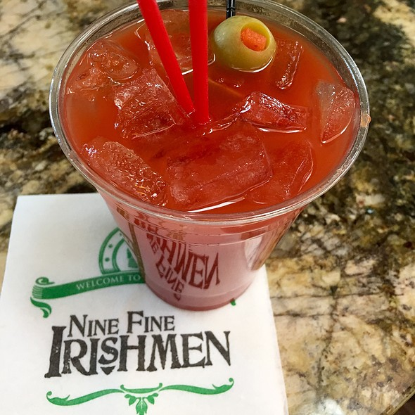 Bloody Mary - Nine Fine Irishmen - New York - New York, Las Vegas, NV