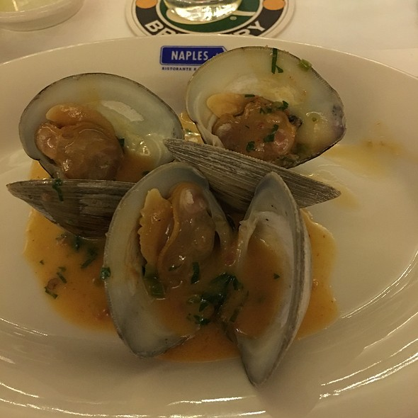 Braised Littleneck Clams - Naples 45 Ristorante E Pizzeria, New York, NY