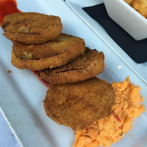 Fried Green Tomatoes - Merchant's Restaurant, Nashville, TN