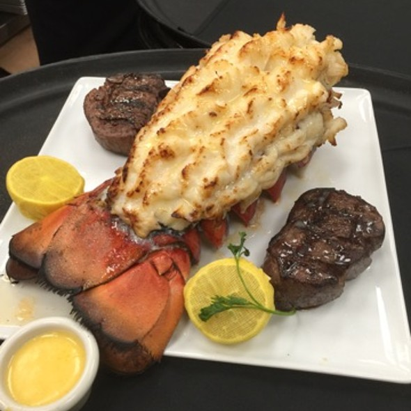 Colossal Lobster Tail and Filet Mignon for Two - The Charcoal Room - Santa Fe Station Hotel & Casino, Las Vegas, NV