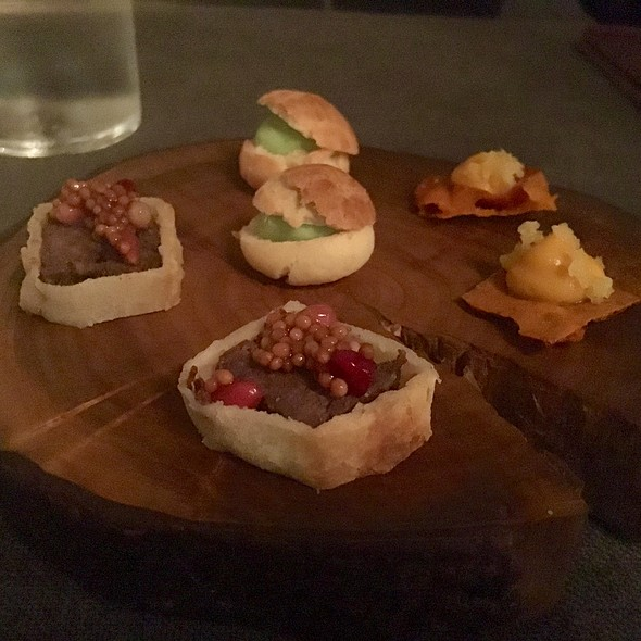 Amuse Bouche - Sons & Daughters, San Francisco, CA