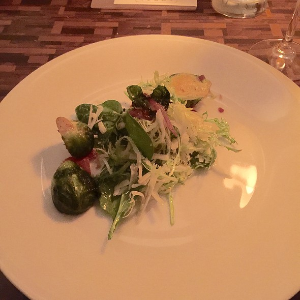 Brussel Sprouts, Endive, Baby Spinach Salad - Local, Dallas, TX