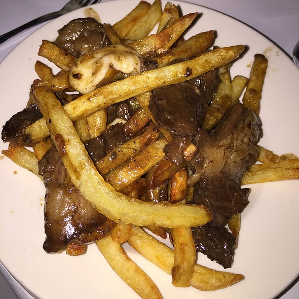 Beef Cheek Poutine - Les Halles Park Avenue, New York, NY