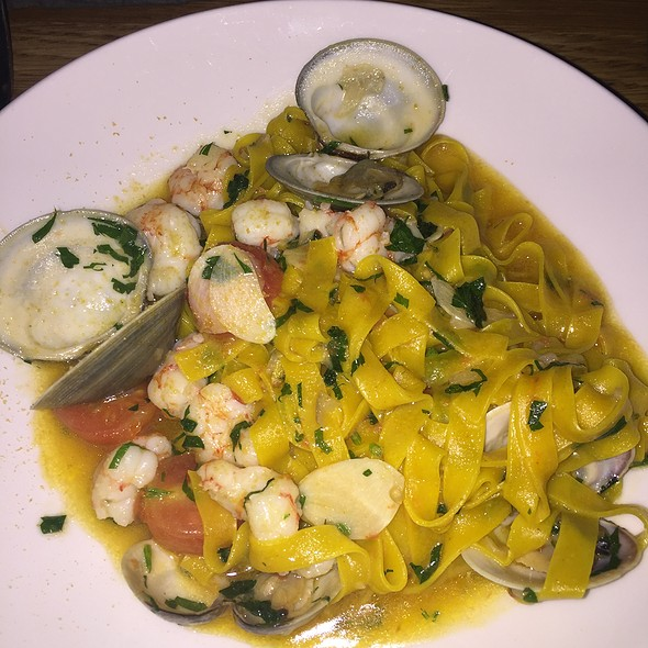 Seafood Tagliatelle - Garces Trading Company, Philadelphia, PA