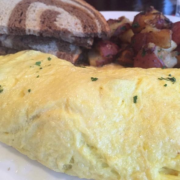 Roasted Vegetables Omelet - Perch Pub, Philadelphia, PA