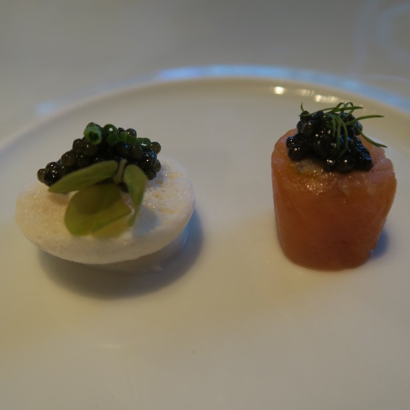Smoked Salmon, Macaron, And Caviar - Caviar Russe, New York, NY