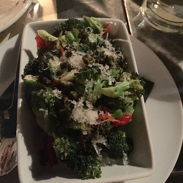 Broccoli With Papadew & Parmesan - Laurel Hardware, West Hollywood, CA