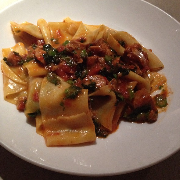 Pappardelle With Veal And Bone Marrow - Vernick Food & Drink, Philadelphia, PA