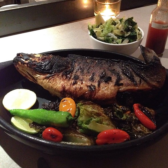 Whole Grilled Branzino - Vernick Food & Drink, Philadelphia, PA