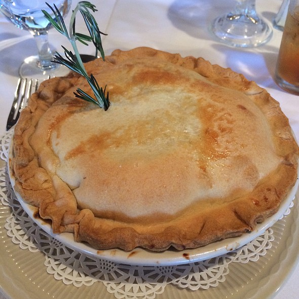 Chicken Pot Pie - Smithville Inn, Absecon, NJ