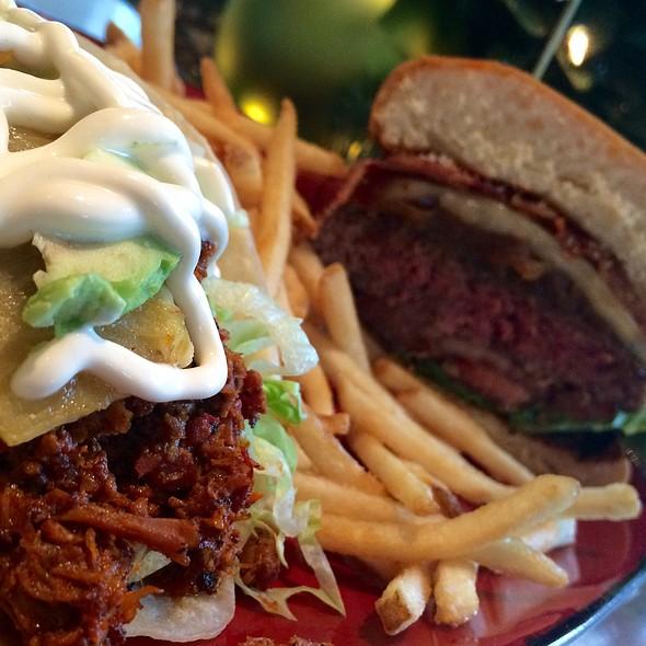 Al Pastor Taco And Tamo Burger - Tamo, Boston, MA