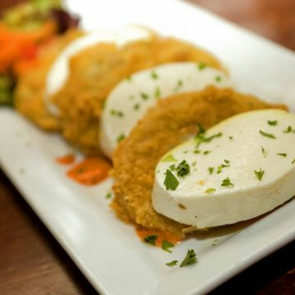 Fried Green Tomato Stack - The Edison, Fort Myers, FL