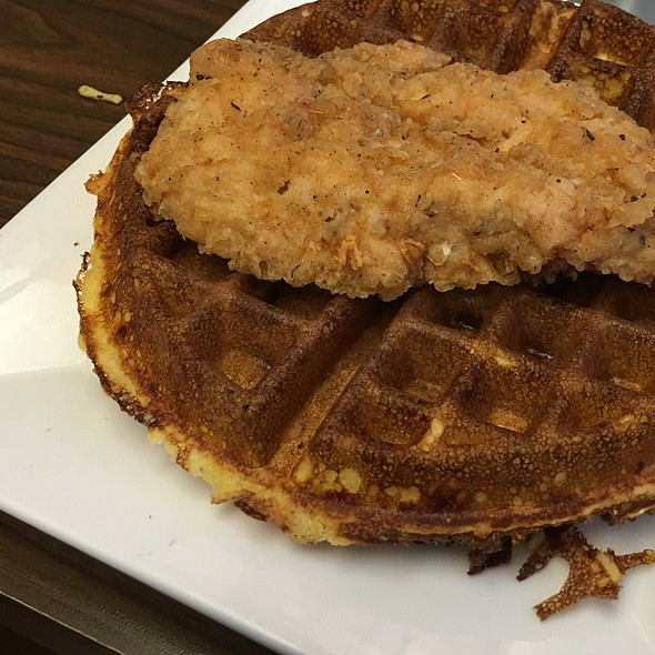 Cornmeal Bacon Waffle - The Original, Portland, OR