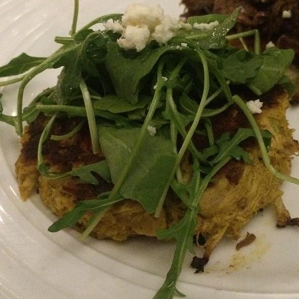 Chicken Curry Cakes - Café 21 – Gaslamp, San Diego, CA