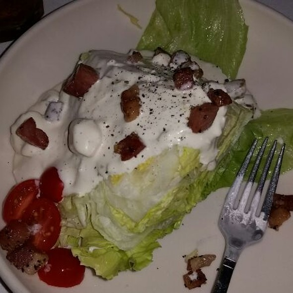 Wedge Salad - St. Elmo Steak House, Indianapolis, IN