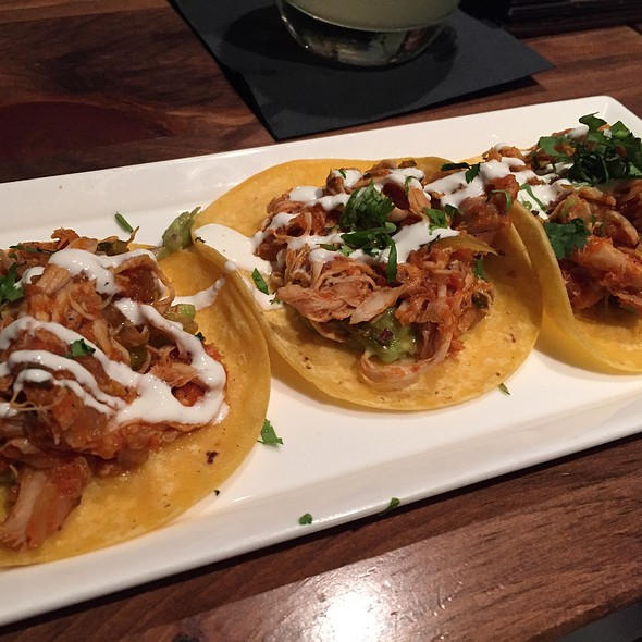 Chicken Tinga Tacos - Zengo - D.C., Washington, DC