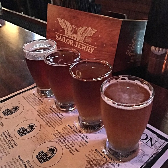 Beer Flight - Heavy Seas Alehouse, Baltimore, MD