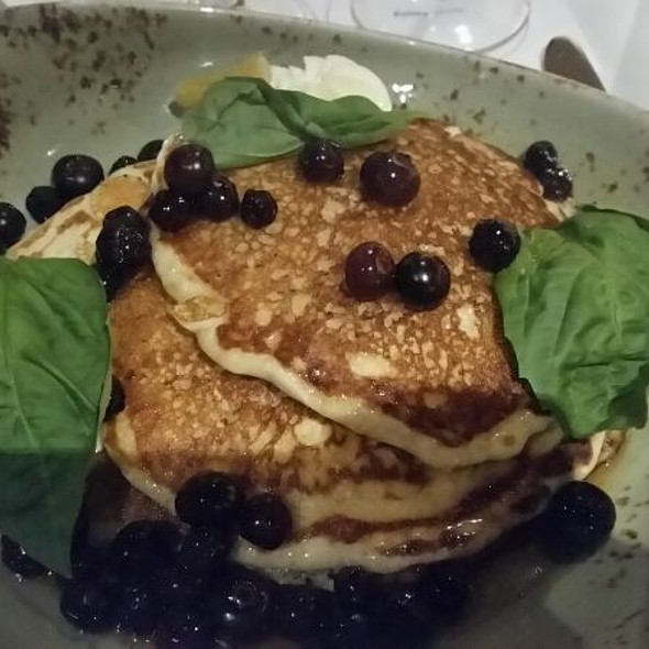 Lemon Ricotta Pancakes - Bin 36, Chicago, IL