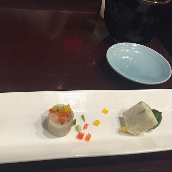 amuse buche - Sushi of Gari - Upper East Side, New York, NY