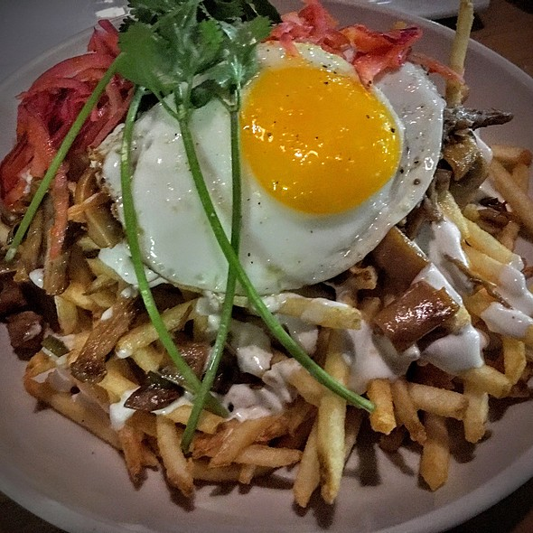 Sisig Fries - Chapter One: the modern local, Santa Ana, CA