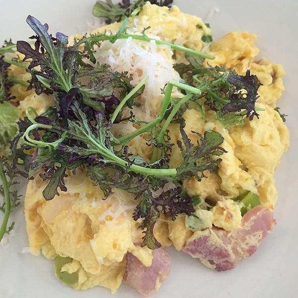 Soft Scrambled Eggs - Mayfield Bakery & Cafe, Palo Alto, CA