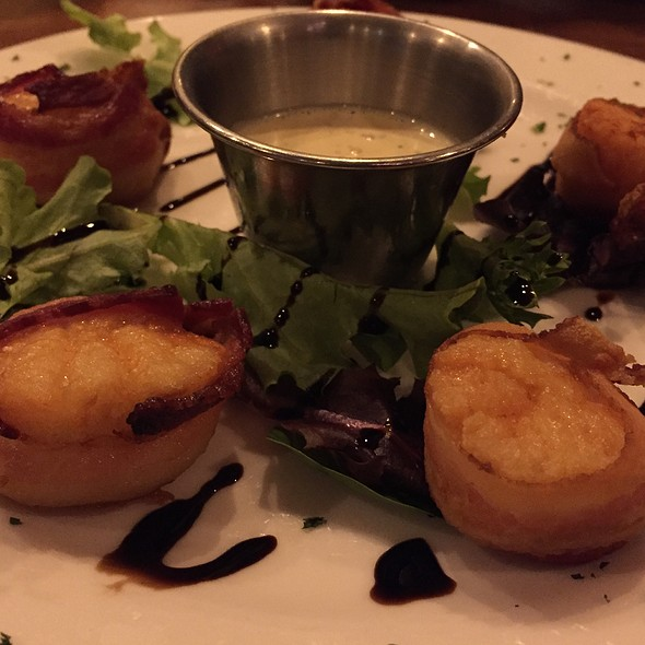 Bacon Wrapped Scallops - Windjammer Restaurant, South Burlington, VT