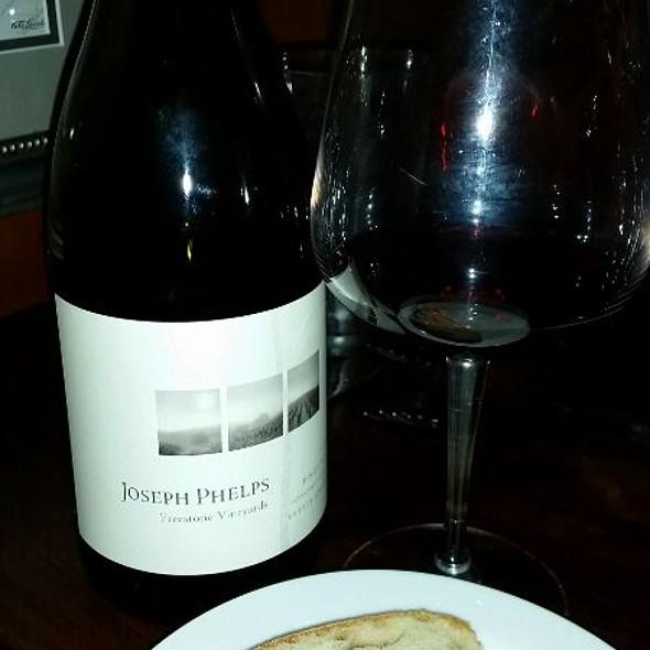 Joseph Phelps 2013 Pinot Noir - Cafe Fiore, Ventura, CA
