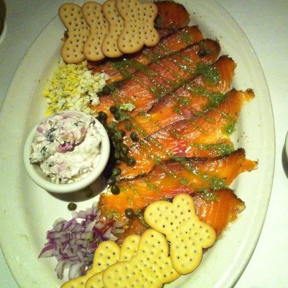 salmon cappaccio - Vito's Chop House - Orlando, FL, Orlando, FL