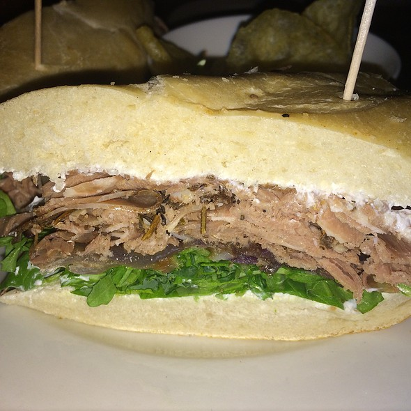 Shaved Prime rib sandwich - The Washington House - Pennsylvania, Sellersville, PA